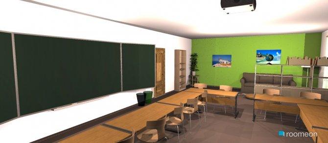 Raumgestaltung Klassenzimmer02 in der Kategorie Arbeitszimmer