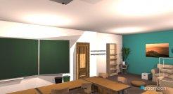 Raumgestaltung Klassenzimmer03 in der Kategorie Arbeitszimmer