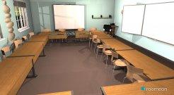 Raumgestaltung Klassenzimmer04 in der Kategorie Arbeitszimmer