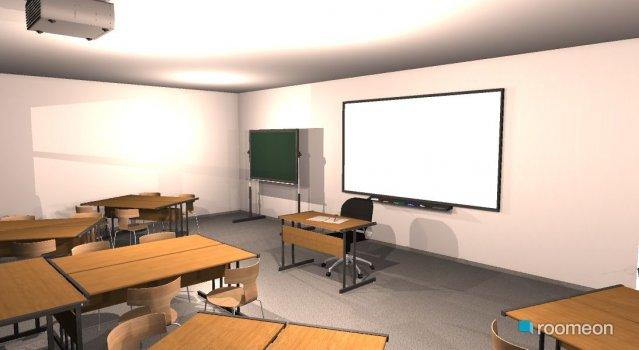 Raumgestaltung Klassenzimmer06 in der Kategorie Arbeitszimmer