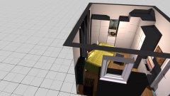 Raumgestaltung Klavierzimmer in der Kategorie Arbeitszimmer