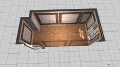 Raumgestaltung kleiner Raum in der Kategorie Arbeitszimmer