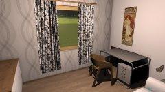 Raumgestaltung Kleines Zimmer 4 in der Kategorie Arbeitszimmer
