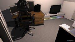 Raumgestaltung kleines zimmer noch kleiner in der Kategorie Arbeitszimmer