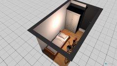 Raumgestaltung kleines Zimmer in der Kategorie Arbeitszimmer