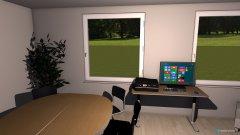 Raumgestaltung Kombiraum in der Kategorie Arbeitszimmer