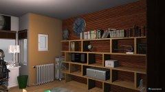 Raumgestaltung Komponierzimmer in der Kategorie Arbeitszimmer