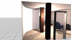 Raumgestaltung Konfi und Empfang in der Kategorie Arbeitszimmer