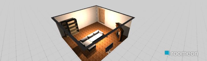 Raumgestaltung Konstantinovska 10 1st floor in der Kategorie Arbeitszimmer