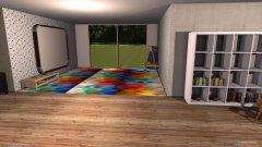Raumgestaltung Kreativ raum in der Kategorie Arbeitszimmer