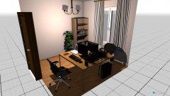 Raumgestaltung Kyat in der Kategorie Arbeitszimmer