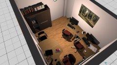 Raumgestaltung Labor (später Büro) in der Kategorie Arbeitszimmer