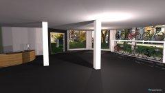 Raumgestaltung Ladenfläche gross in der Kategorie Arbeitszimmer