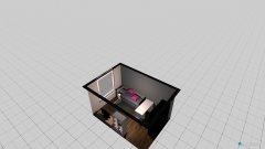 Raumgestaltung Lenis Zimmer in der Kategorie Arbeitszimmer