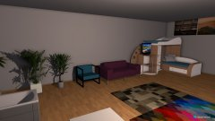 Raumgestaltung Luca-2014-04-29 in der Kategorie Arbeitszimmer