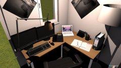 Raumgestaltung Luca zock raum in der Kategorie Arbeitszimmer