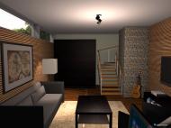 Raumgestaltung Lucas20 basement renovated in der Kategorie Arbeitszimmer