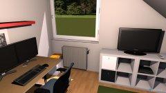 Raumgestaltung Luz Zimmer in der Kategorie Arbeitszimmer