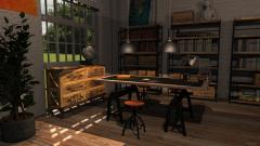 Raumgestaltung Maisons du Monde Showroom in der Kategorie Arbeitszimmer