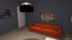 Raumgestaltung Man's Office in der Kategorie Arbeitszimmer