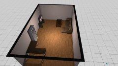 Raumgestaltung Marcels in der Kategorie Arbeitszimmer