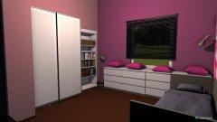 Raumgestaltung Maries Zimmer in der Kategorie Arbeitszimmer