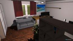 Raumgestaltung Markus Wohnung in der Kategorie Arbeitszimmer