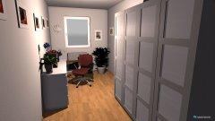 Raumgestaltung Martina Büro in der Kategorie Arbeitszimmer
