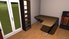 Raumgestaltung Martins Zimmer in der Kategorie Arbeitszimmer