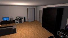 Raumgestaltung marvins zimmer in der Kategorie Arbeitszimmer