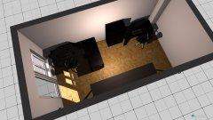 Raumgestaltung Matthias Arbeitszimmer in der Kategorie Arbeitszimmer