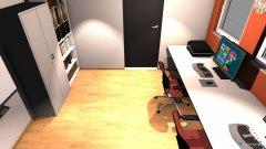 Raumgestaltung Medienraum in der Kategorie Arbeitszimmer