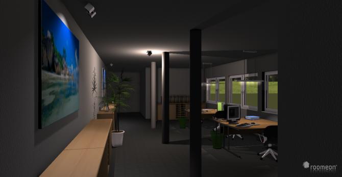 Raumgestaltung Mein Büro in der Kategorie Arbeitszimmer