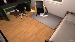 Raumgestaltung Mein Raum Orginal Abmessungen in der Kategorie Arbeitszimmer