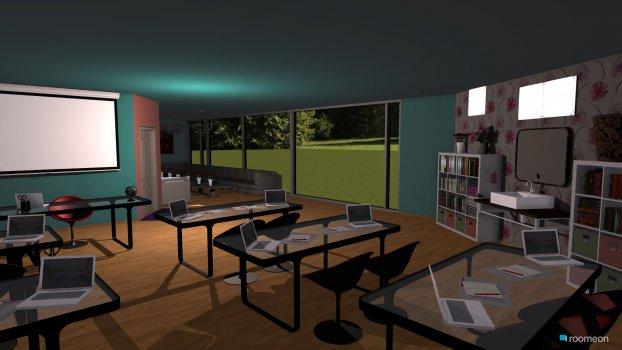 Raumgestaltung Mein Wunschklassenzimmer in der Kategorie Arbeitszimmer