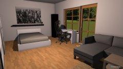 Raumgestaltung Mein Zimmer 1 in der Kategorie Arbeitszimmer
