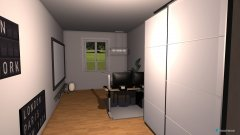 Raumgestaltung Mein Zimmer Furture in der Kategorie Arbeitszimmer