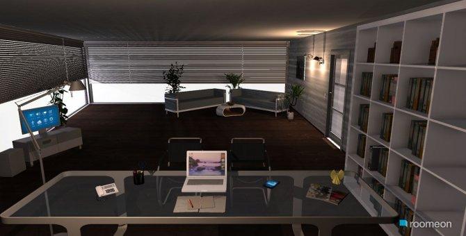 Raumgestaltung Moviemanager Büro in der Kategorie Arbeitszimmer