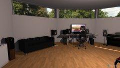 Raumgestaltung music in der Kategorie Arbeitszimmer