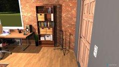 Raumgestaltung Musikzimmer in der Kategorie Arbeitszimmer