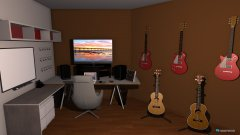 Raumgestaltung Neubau Studio in der Kategorie Arbeitszimmer