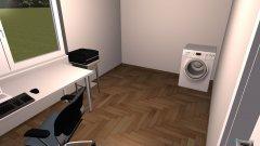 Raumgestaltung Neues Arbeitszimmer in der Kategorie Arbeitszimmer