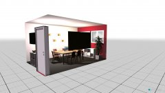 Raumgestaltung Neues Büro in der Kategorie Arbeitszimmer
