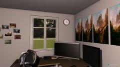 Raumgestaltung Neues Gaming-Zimmer in der Kategorie Arbeitszimmer