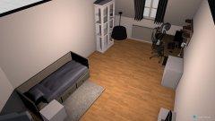 Raumgestaltung neues wohnugszimmer in der Kategorie Arbeitszimmer