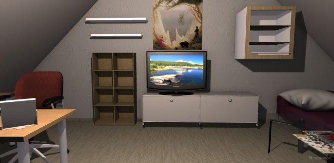 Raumgestaltung New Getto digga in der Kategorie Arbeitszimmer