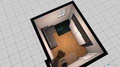Raumgestaltung Niclas Raum in der Kategorie Arbeitszimmer