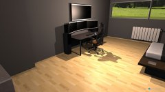Raumgestaltung nikolazimmer in der Kategorie Arbeitszimmer