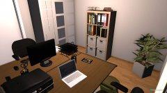 Raumgestaltung Nufringen Arbeitszimmer in der Kategorie Arbeitszimmer