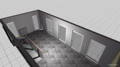 Raumgestaltung Obergeschoss 2 in der Kategorie Arbeitszimmer